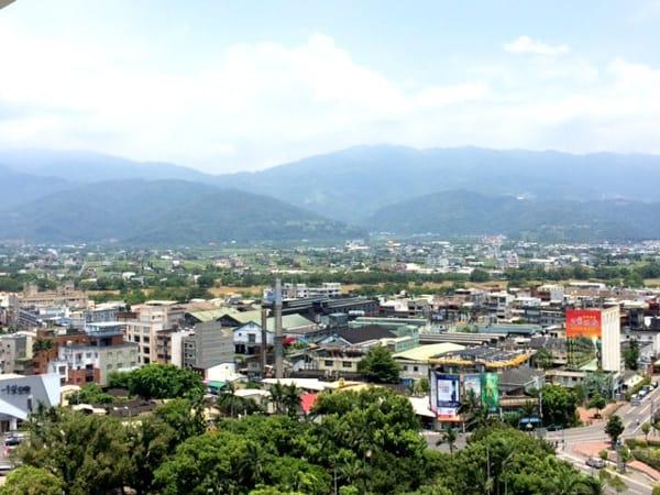 Beautiful mountains in Yilan Taiwan