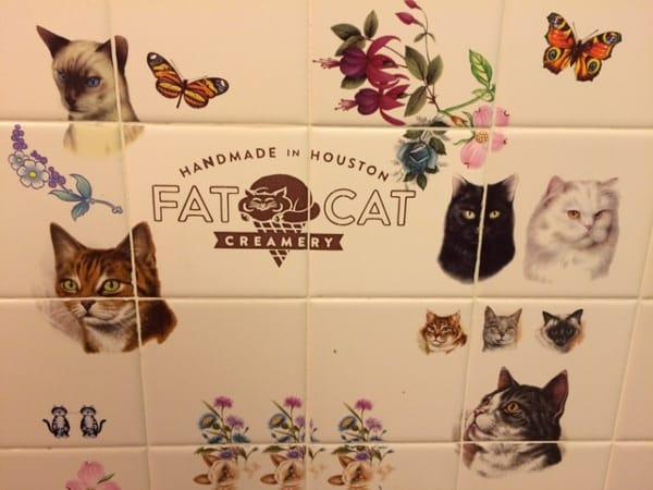 Fat Cat Creamery Houston Heights Tiles