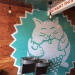 Fat Cat Creamery Houston Heights Walls