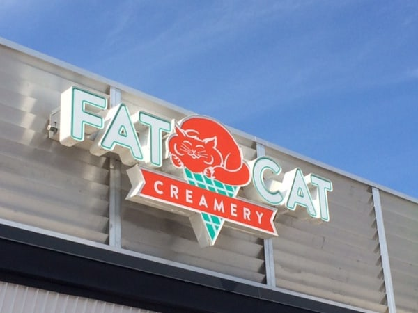 Fat Cat Creamery Houston Heights