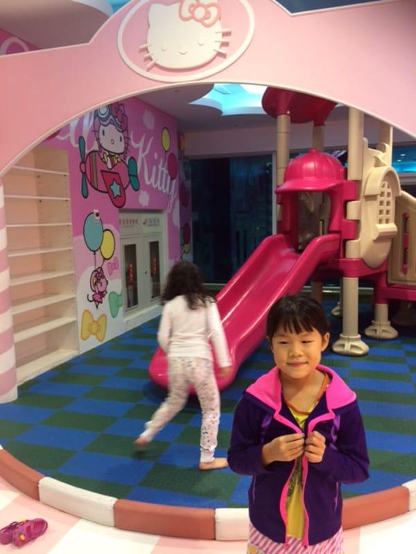 Hello Kitty Themed Play Area at Taipei Airport Gate BigKidSmallCity
