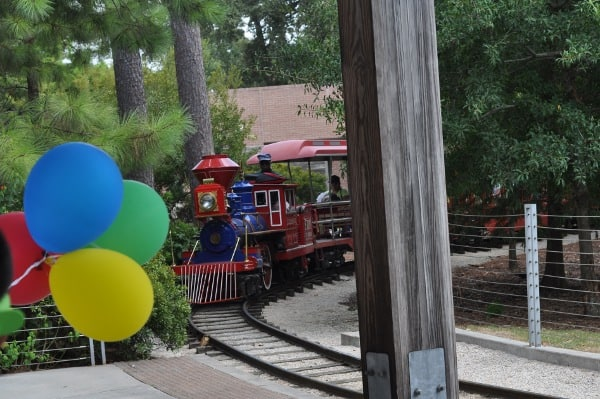 Hermann Park Train at Celebration