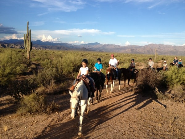 Horseback Riding Cave Creek Outfitters Scottsdale Arizona