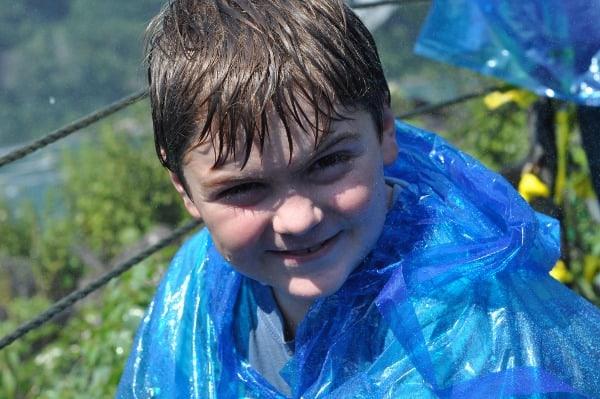 Joe at Niagara Falls Crows Nest
