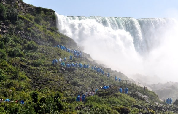Maid of the Mist Crows Nest Niagara Falls New York