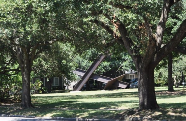 Menil Collection Park or Red Swing Park