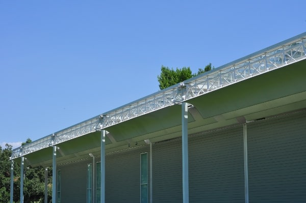 Menil Collection Roof