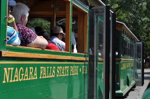 Niagara Falls New York Trolley