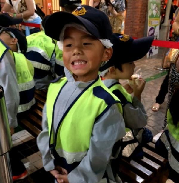 Playing Police Man in Taipei BigKidSmallCity