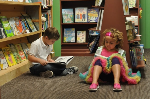Reading at Brazos Bookstore