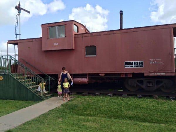 Rosenberg Railroad Museum Caboose