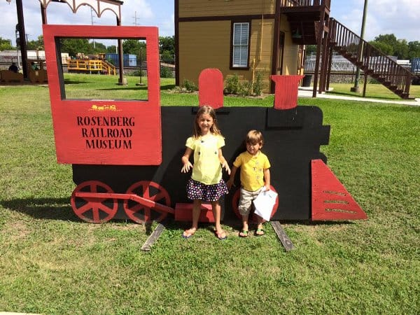 Rosenberg Railroad Museum Sign