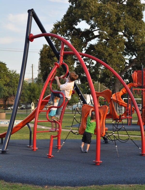 Shadow Oaks Elementary Spark Park Playground