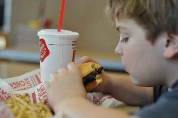 Smashburger Black Bean Burger Houston Heights BigKidSmallCity