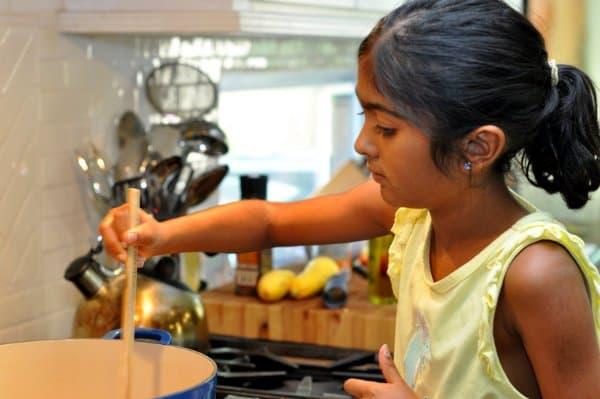 Stirring Summer Minestrone Soup