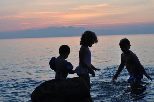 Sunset at Lake Ontario
