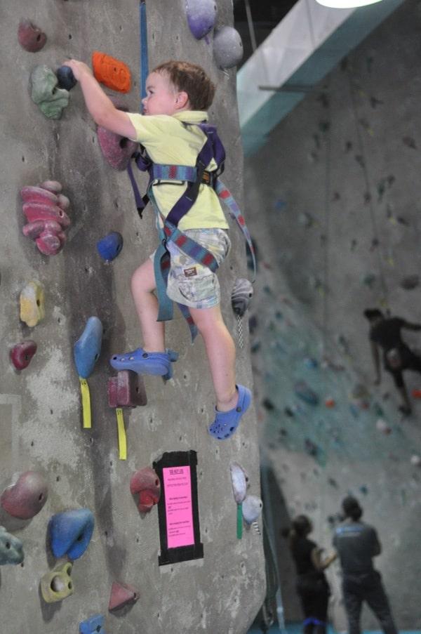 Texas Rock Gym James Climbing1