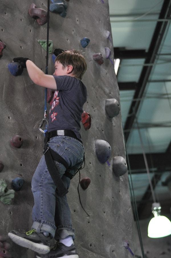 Texas Rock Gym Joe Climbing