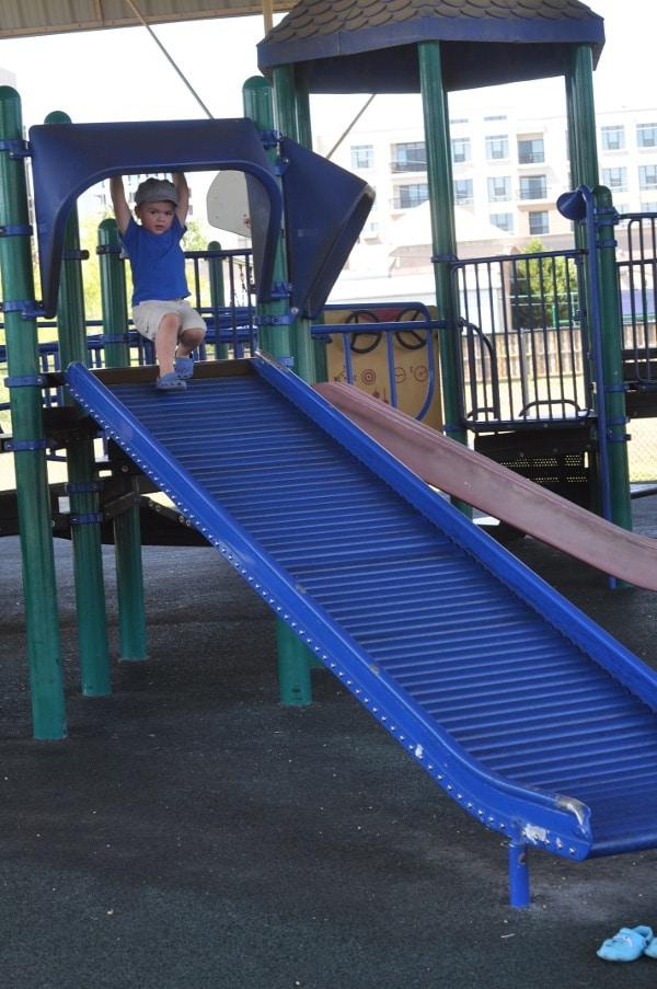 Wood Bend Park Roller Slide