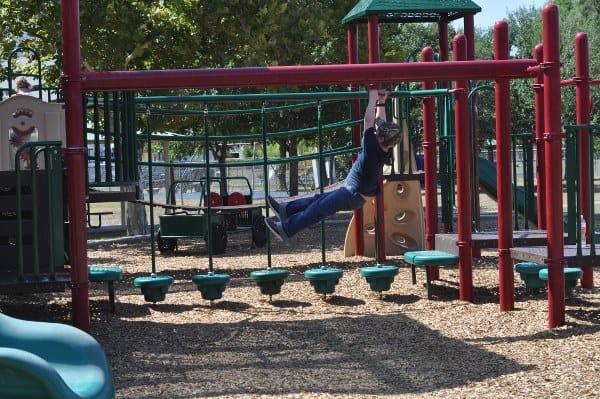 Wood Bend Park Zip Line Ninja Warrior Playgrounds