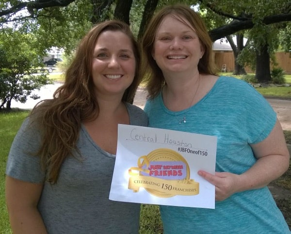 Katrina and Meghan of Just Between Friends Central Houston