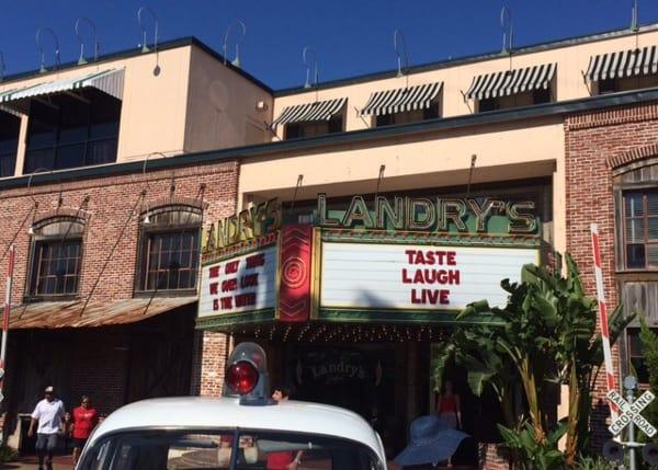 Landrys Seafood in Kemah