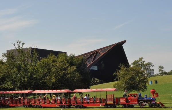 Miller Outdoor Theatre and Hermann Park Train