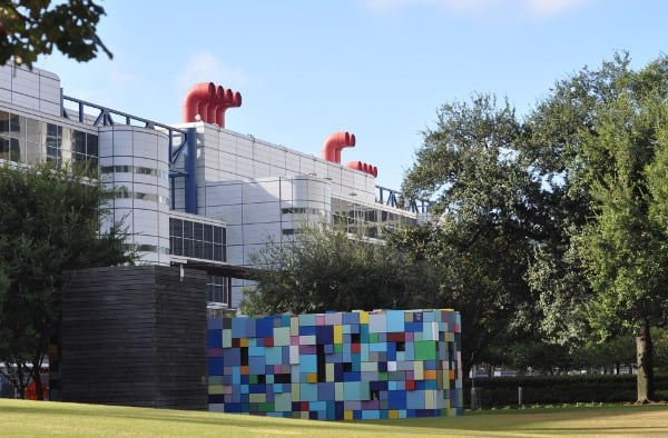 Discovery Green Blue Tiles and George R Brown