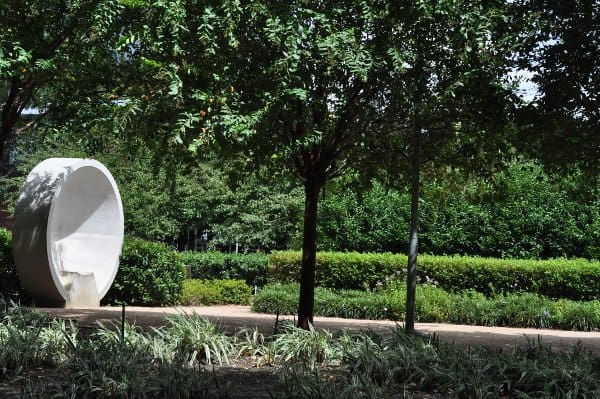 Discovery Green Listening Vessels