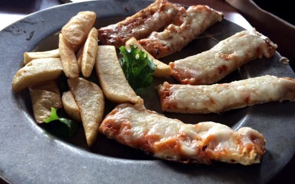 Katz Deli Pizza and French Fries