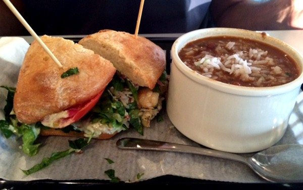 Local Foods Sandwich and Soup
