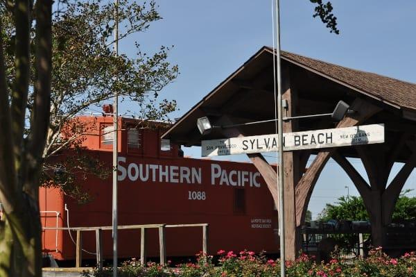 Old Sylvan Beach Train Depot