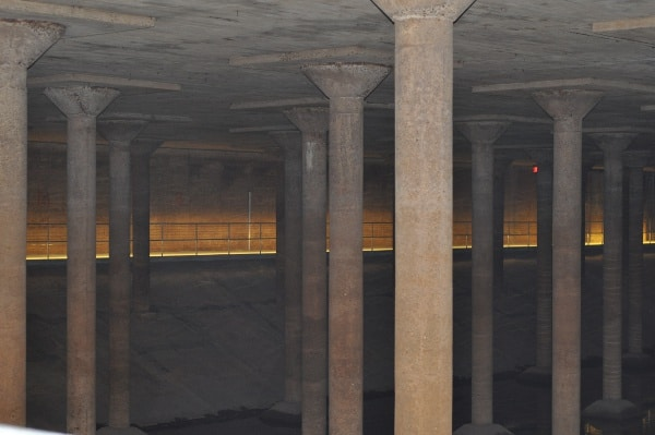 Sabine Street Bridge Cistern at Buffalo Bayou Bridge
