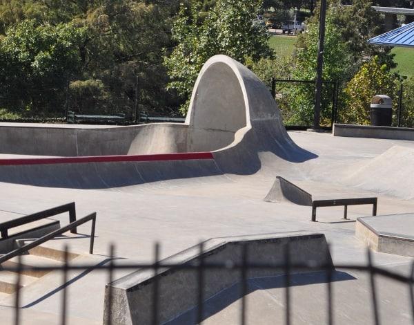 Skate Park at Buffalo Bayou Park