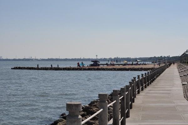 La Porte Beach Sylvan Beach Park La Porte Walkway