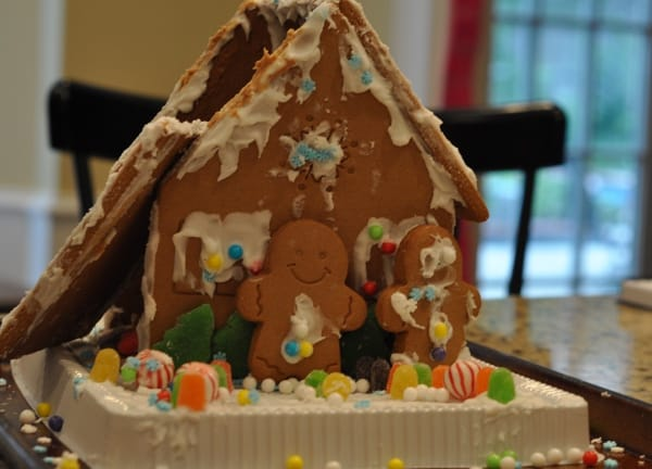 Broken Gingerbread House