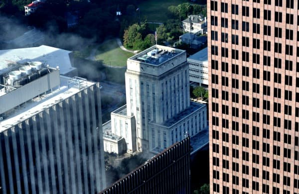 City Hall from JP Morgan Chaser Tower