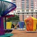 Play with Art with Los Trompos at Discovery Green!