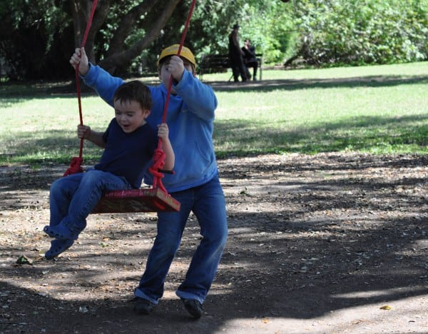 Red Swing at Menil Park