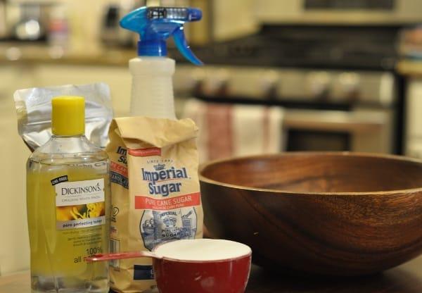 Supplies for Imperial Sugar Bath Bombs