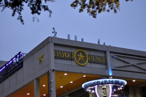Downtown Houston Theater District Bayou Place