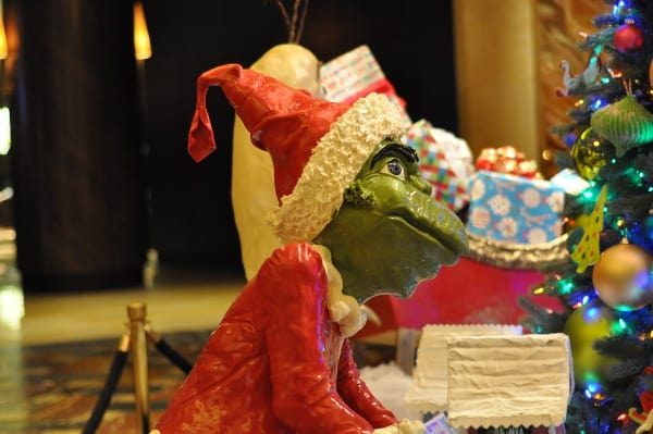 Hilton Americas Houston Grinch