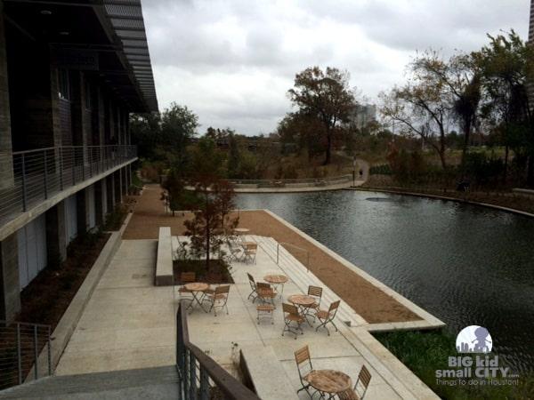 Lost Lake at Buffalo Bayou Park