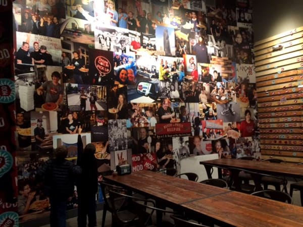 MOD Pizza Picture Wall