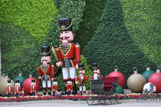 Nutcrackers at Gallery Furniture Grand Parkway