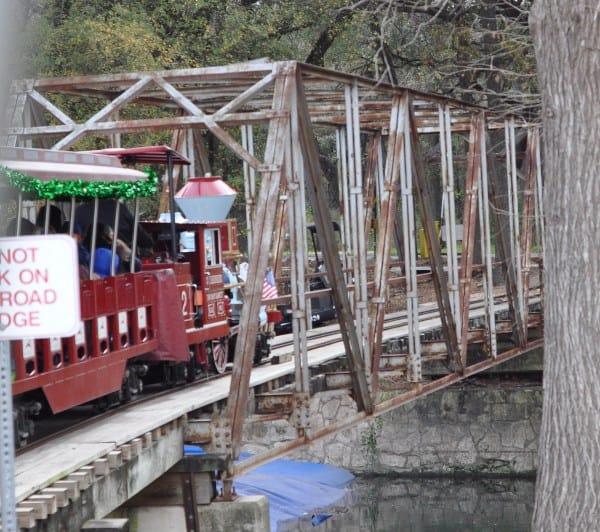 San Antonio Zoo Train
