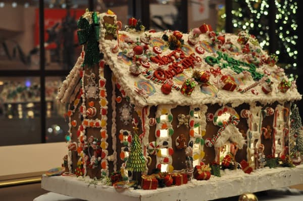 Wortham Theater Gingerbread House