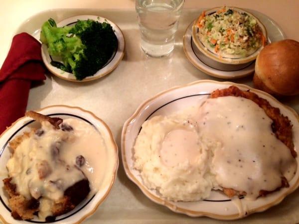 Cleburne Cafeteria Chicken Fried Steak