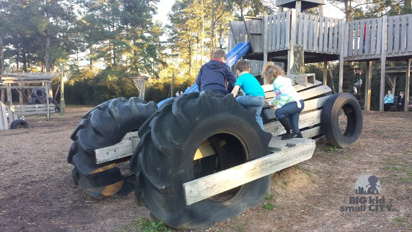 Jerry Matheson Park Memorial Playground Tractor