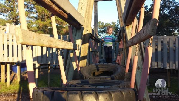 Jerry Matheson Park Tire Bridge